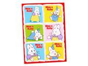 Max & Ruby Sticker Sheets (4)