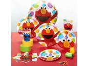 Sesame Street Elmo Party Standard Pack - Paper, Plastic, Foil, Wax