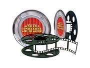 Movie Reel with Filmstrip Centerpiece - plastic
