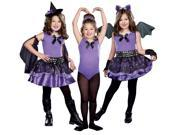 3-in-1 Witch / Dark Ballerina / Bat Child Costume - Black/purple - Small - Polyester
