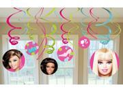 Barbie All Doll'&#59;d Up Hanging Swirl Value Pack - Pink
