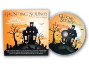 Halloween Haunting Sounds Cd - Black/orange