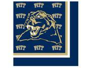 Pittsburgh Panthers - Lunch Napkins - paper