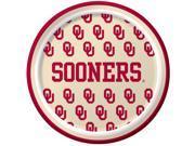 Oklahoma Sooners - Dessert Plates - paper