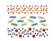 Congrats Dot Confetti Value Pack - Plastic-pet