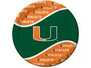 Miami Hurricanes - Dinner Plates - paper