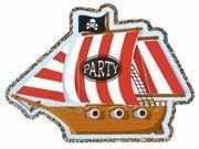 Jumbo Pirate Invitations - Paper