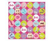 Barbie All Doll'&#59;d Up Gift Wrap - Paper