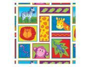 Jungle Animals Gift Wrap - Paper