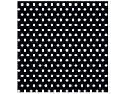 Black With Polka Dot Jumbo Gift Wrap - Paper