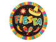 Fiesta Fun Banquet Dinner Plates - paper
