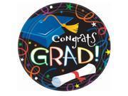 Grad Celebration Graduation Dinner Plates - paper