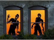 Halloween Ghoulies Window Clings - 854236001696