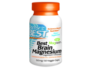 Doctor's Best Best Brain Magnesium 150 mg - 60 Vcaps