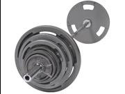 VTX 300 lb. Olympic Grip Plate Weight Set