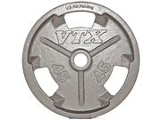 VTX Olympic 35lb Grip Plate