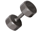 VTX 80lb Individual 12-Sided Cast Iron dumbbell