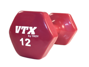 VTX 12 Lb. Vinyl Dumbbell