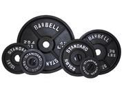 USA Sports Black Olympic 355lb Plate Set