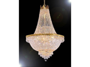 """French Empire Crystal Chandelier Lighting H30"""" X W24"""""""