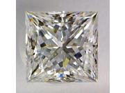 Princess cut 1.26 carat F VS1 loose diamond