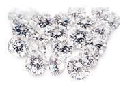 9 - 11 Pointer melee diamond parcel 1 carat F/G SI2 round cut melee diamond