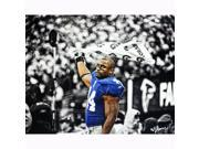 Ahmad Bradshaw B&W with Color Accents 16x20 Photo Unsigned (Signed by Hauser)