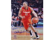 "Scoop Jardine Syracuse Orange Jersey Vertical 8x10 Photo w/ ""2007-12"" Insc."