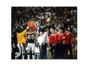 Harry Carson Gatorade Dunk on Parcells 8x10 Photograph Signed in Silver