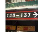 140-137 (Right Arrow) Section Sign From  Giants Stadium