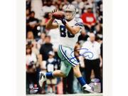 Anthony Fasano Cowboys White Jersey Catch Vertical 8x10