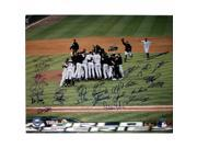 Chicago White Sox Signed 2005 WS Celebration (First Base View) Framed 16x20