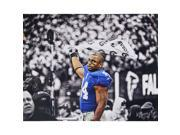 Ahmad Bradshaw B&W with Color Accents 20x32 Photo Unsigned (Signed by Hauser)