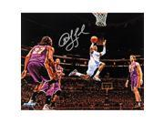 Chris Paul Los Angeles Clippers Layup Against Lakers Wide Angle Signed 8x10 Photo