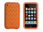 XtremeMac TuffWrap IPP-TWT-23 Tatu Case for iPhone 3 Generation - Orange Hexagons
