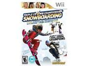 Destineer 828068212926 Triple Crown Snowboarding for Nintendo Wii