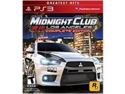 Rockstar Games 710425377167 Midnight Club: Los Angeles for Play Station 3 - Complete Edition