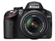 Nikon 018208254927 D3200 24.2 Megapixels Digital Camera - 3x Optical Zoom - 3-inch LCD Display - Black
