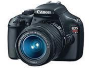 Canon EOS 5157B002 Rebel T3 12.2 Megapixels Digital SLR Camera, 3x Optical Zoom, 2.7-inch LCD Display, SD Card - Black