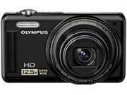 Olympus 228125 VR-320 14 Megapixels Digital Camera - 12.5x Optical zoom/4x Digital Zoom - 3-inch LCD Display - Black