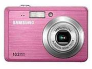 Samsung EC-SL102PBP SL102 10.2 Megapixels Digital Camera - 3x Optical Zoom/3x Digital Zoom - 2.5-inch LCD Display - MultiMedia/SD - Pink