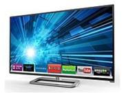 Vizio M651D-A2R 65-inch Class Razor LED Smart LCD HDTV with Theater 3D - 1080p - 10000000:1 - 240 Hz - 350 cd/m2 - 8 ms - HDMI - Silver
