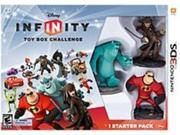 Disney 712725023607 Infinity: Toy Box Challenge Starter Pack for Nintendo 3DS