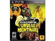 Rockstar Games 710425379338 Red Dead Redemption: Undead Nightmare for Playstation 3