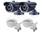 Samsung SDS-5440BCD High Resolution Weatherproof IR Camera - 2 Pack