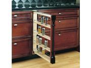 """Rev-A-Shelf 432-BF-3C 432 Series 3"""" Base Filler Pull Out Organizer with Adjustab"""