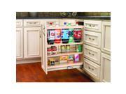 """Rev-A-Shelf 448-BC-5C 448 Series 5"""" Base Organizer with Adjustable Shelves for F"""