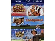 Blazing Saddles/Caddyshack/National Lampoon's Euro