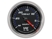 Auto Meter 7984 Cobalt&#59; Mechanical Vacuum Gauge
