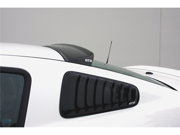GT Styling GT4812S Quarter Window Louver 05-09 Mustang